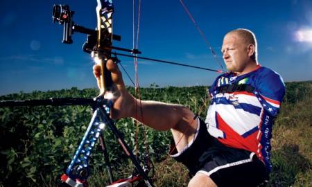 Matt Stutzman prepare for Rio 2016