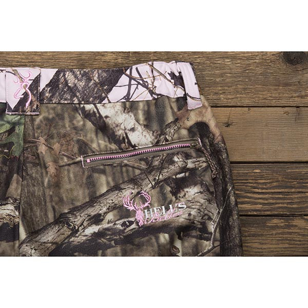 Side of Browning Hell's Belles Soft-Shell