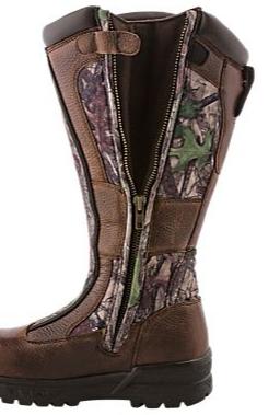 Side of Women's waterproof hunting boots 02