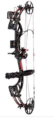 Side of PSE Bow Madness RTS Compound Bow Package
