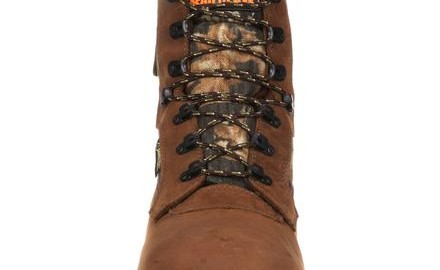 Front of Rocky Arctic BearClaw GORE-TEX hunting boots