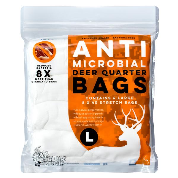 Anti-Microbial Deer Quarter Bags