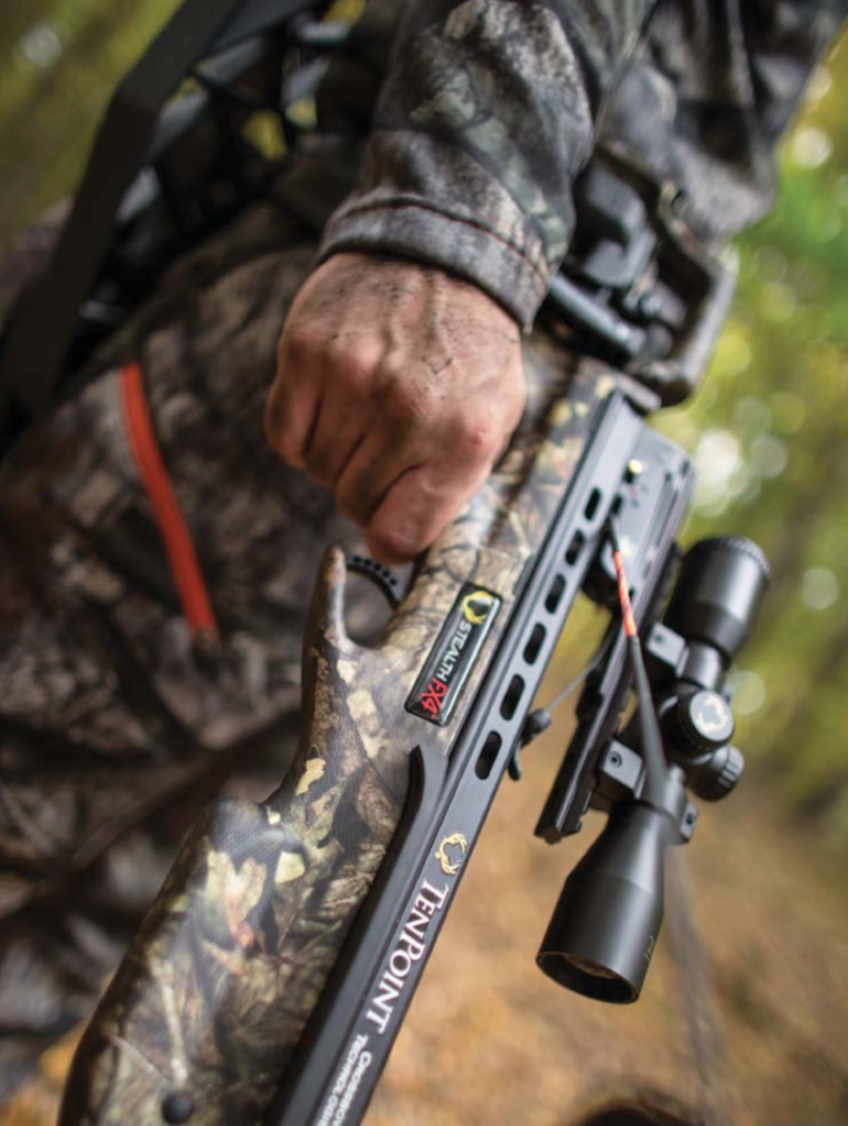 Taking care of the trigger and rail are two areas of concern if you're hunting in rain, snow or ice.