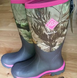 womens woody max fleece hunting boot
