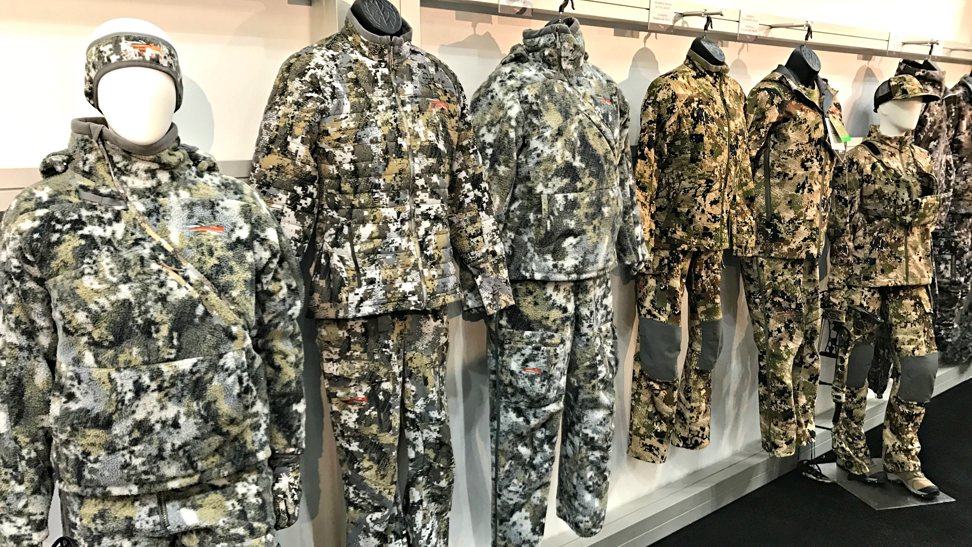 Sitka bow hunting clothes