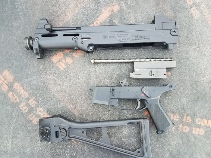 USC to UMP45 Conversion parts (image courtesy JWT for thetruthaboutguns.com)