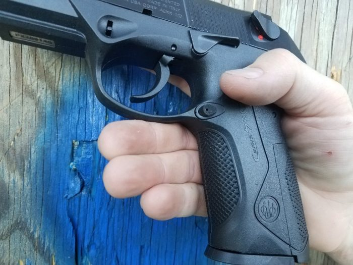 Beretta PX4 Storm in hand(image courtesy JWT for thetruthaboutguns.com)