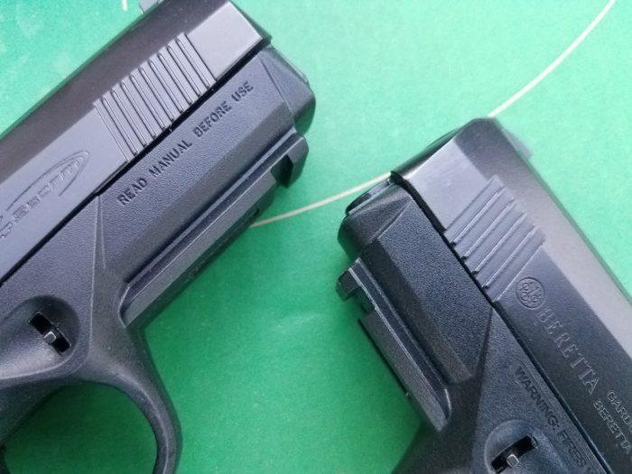 Beretta PX4 Storm muzzles (image courtesy JWT for thetruthaboutguns.com)