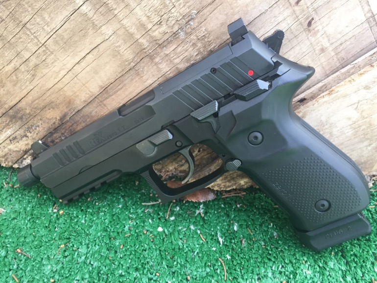 AREX Rex zero 1T 9mm Pistol Review