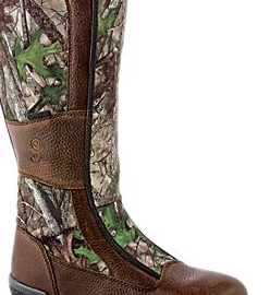 Side of Women's waterproof hunting boots