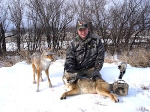 In exteme conditions, plan accordingly for your coyote hunts to be successful