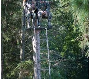hunting ladder stand