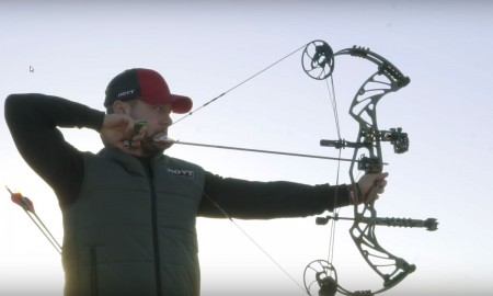 The new 2017 Hoyt Pro Defiant bow