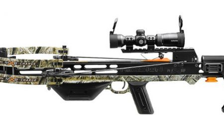 Mission MXB Charge Crossbow at the 2017 ATA Show